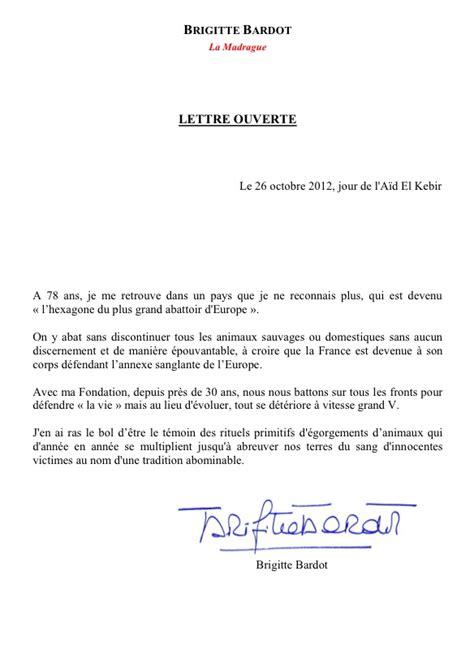 Exemple De Lettre Ouverte Victor Hugo Modele Lettre Ouverte Gratuit Document