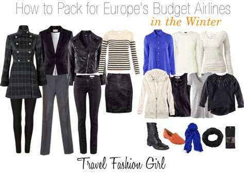 Europe Travel Wardrobe by How To Pack For Europe S Budget Airlines