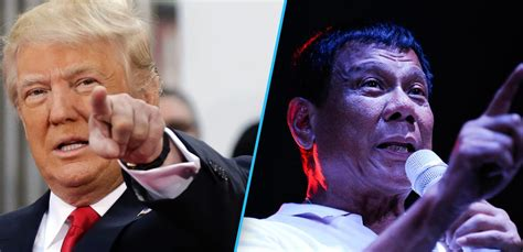 trump duterte rodrigo duterte makes donald trump look like a fairy