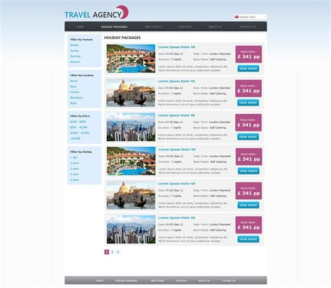 free travel agency website templates free travel agency website template travel website