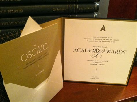 oscar invitation template home food garden my academy award invitation
