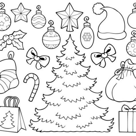 dibujos de navidad para pintar y recortar 193 rbol de navidad para recortar y colorear dibujo para