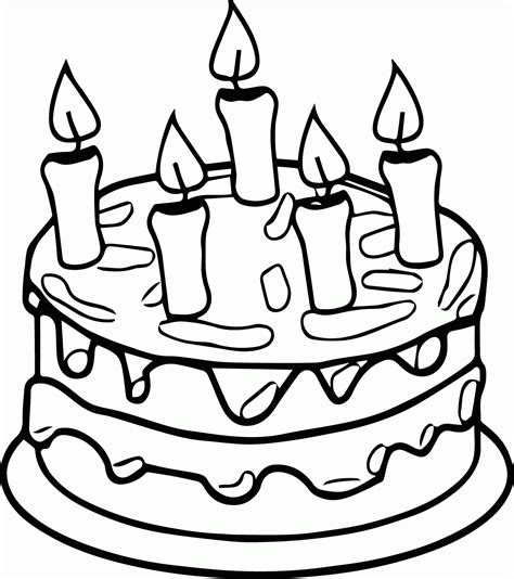 king cake coloring pages cake coloring page coloring home