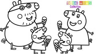 how to your coloring pages how to draw peppa pig family coloring pages