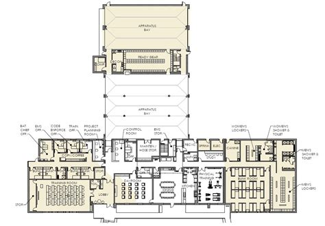 Volunteer Fire Station Floor Plans | small fire station floor plans crowdbuild for