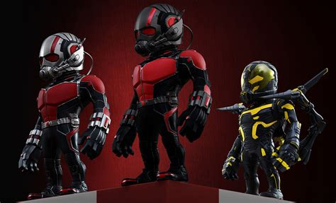Masker Antman Set 3 ant artist mix deluxe set of 3 collectible set