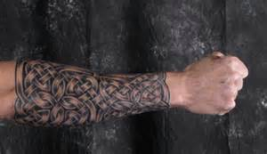 celtic sleeves tattoo armor and full knotwork coverage