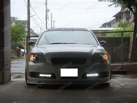 subaru legacy led lights ijdmtoy car high power led daytime running lights on