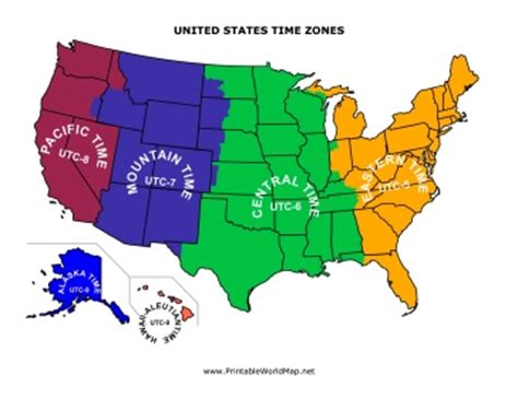 map of the united states divided by time zones 12 best images about state maps on pinterest country