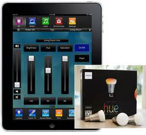 savant home automation supports philips hue smart led