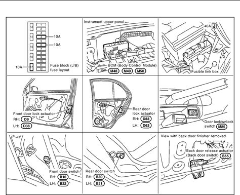 nissan micra k11 fuse box diagram nissan wirning diagrams