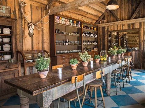 Contemporary Kitchen Design Photos by Inside Soho House S New Game Changing Farmhouse Cond 233