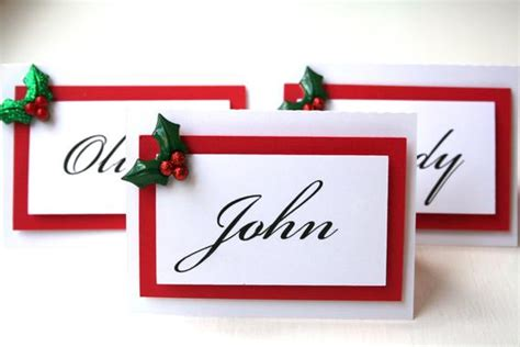 dinner table name cards decoration items with names ciupa biksemad