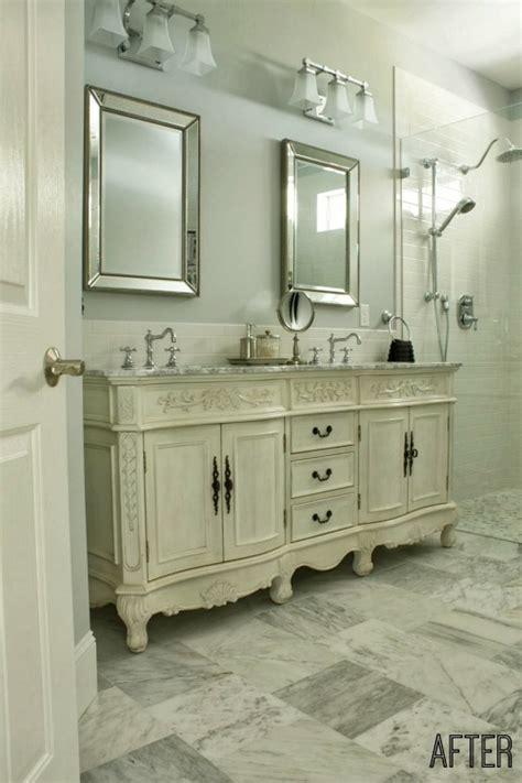 """""""1990s Miami"""" No More: Penny's Master Bath Makeover   Hooked on Houses"""