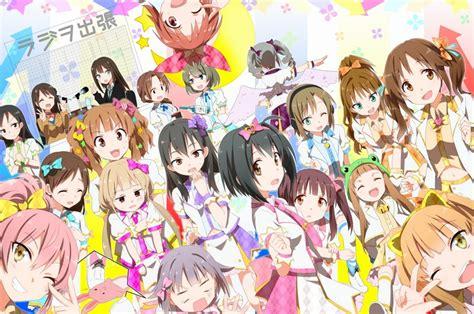 anime baru bulan oktober iklan terbaru the idolm ster cinderella