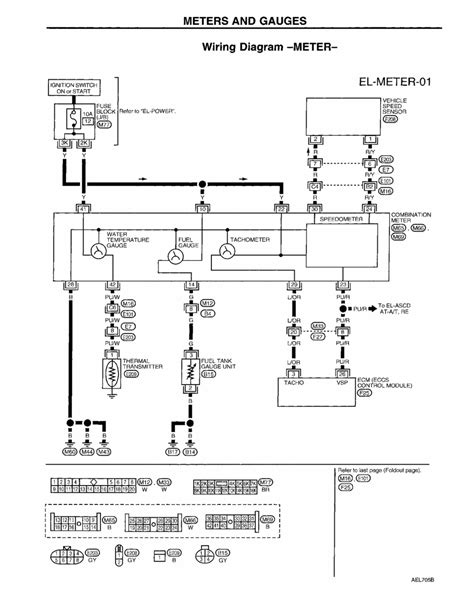 nissan sentra electrical schematic
