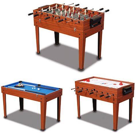 Sportcraft Multi Table by Sportcraft 3 In 1 Multi Table Foosball Table Hockey