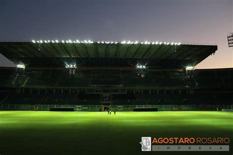ladari floss illuminazione palermo illuminazione stadio comunale renzo