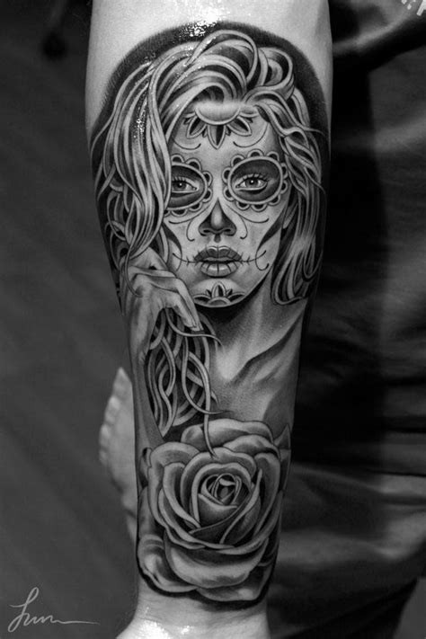 day of the dead sugar skull tattoo designs photo gallery 171 inked inspiration a collection of