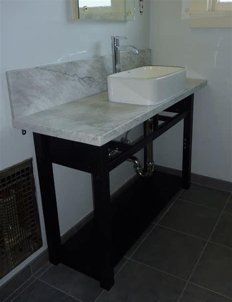 ikea hack bathroom vanity norden sideboard hacked into bathroom vanity ikea