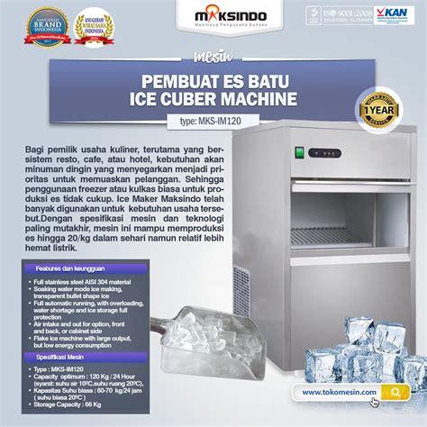 Jual Alat Test Batu Semarang jual mesin es batu im120 di semarang