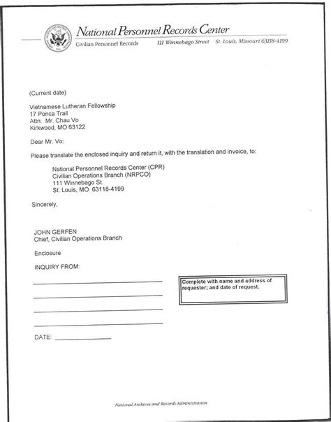 letter transmittal templates word excel templates