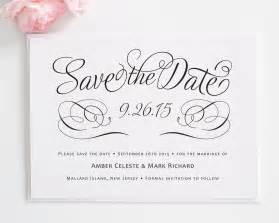 charming script save the date cards save the date cards by shine