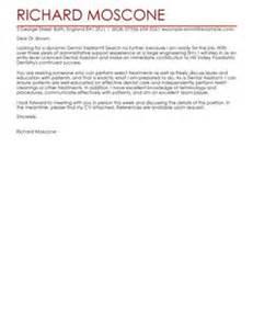 dental assistant covering letter exles healthcare