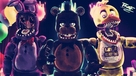 painting fnaf fnaf speedpaint the withered band by yumechii ni on