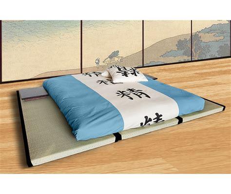 futon letto kit letto 3 tatami futon 14cm matrimoniale vivere zen