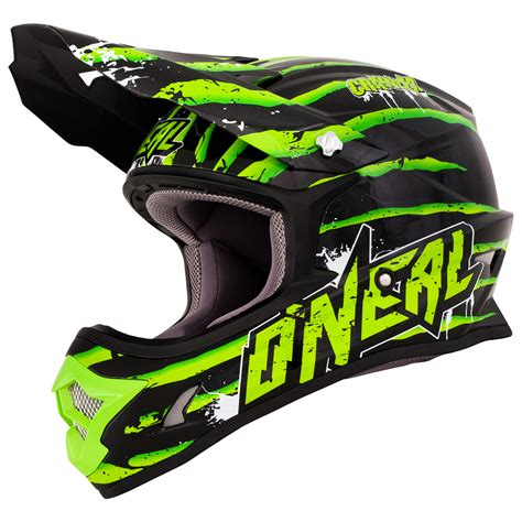 green motocross helmet oneal 3 series crawler green motocross helmet mx enduro
