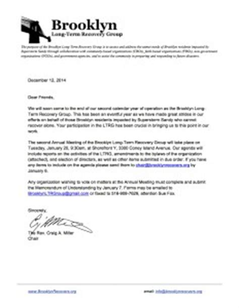Insurance Recoupment Letter Term Recovery