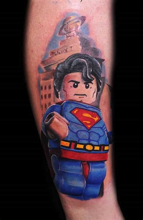 tattoo 3d lego superman tattoos for men ideas and inspiration for guys