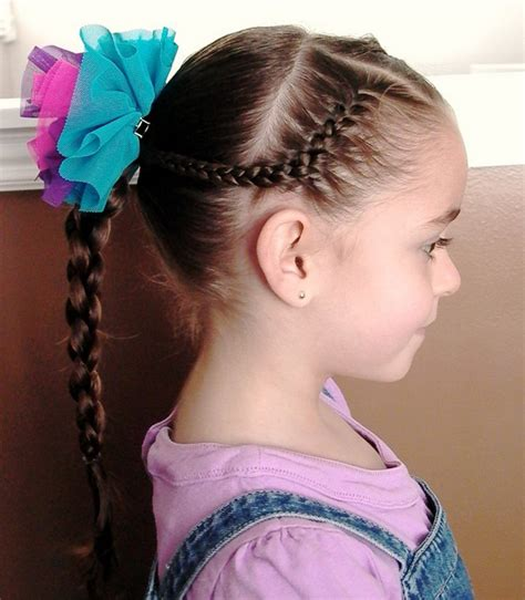 hairstyles for lil girl sweet chearleading hairstyles for little girls