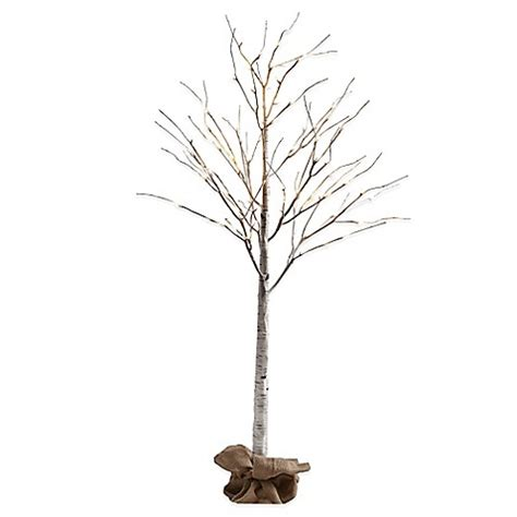 4 Foot Led Lighted Birch Tree Buybuy Baby 4 Ft Lighted Tree