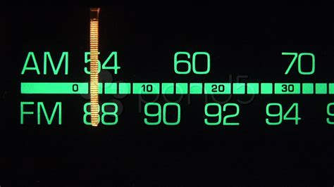 am fm tuner radio dial stock video 000125841 hd stock