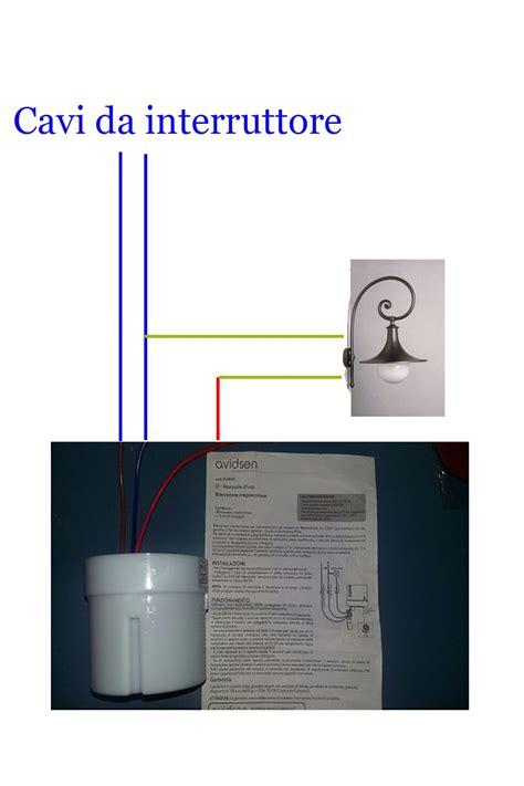 lade da esterno con crepuscolare e sensore di movimento sensore di movimento crepuscolare collegamento come