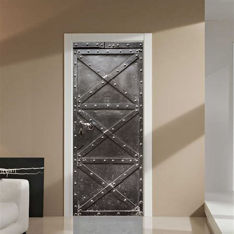 aliexpress buy 3d steel door wall sticker diy door