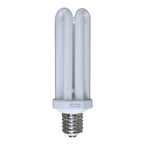 Lights Of America Led Bulbs Lights Of America 9166b 65 Watt Mogul Base Fluorescent Light Bulb Atg Stores
