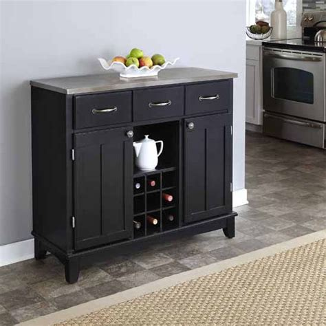 Kitchen Server by Buffet Servers Buffet Servers With Black Finish And