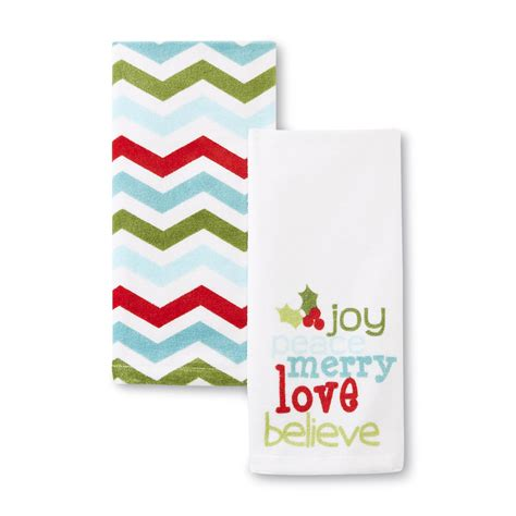 christmas towels bathroom 2 pack christmas bathroom hand towels home bed bath