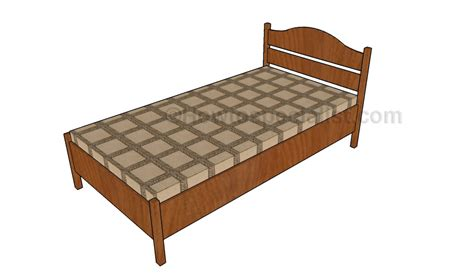 Size Bed Frame Plans by Size Bed Frame Plans Howtospecialist How To Build