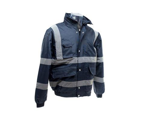 Navy Yoco Jacket yoko high visibility classic bomber jacket hvp211