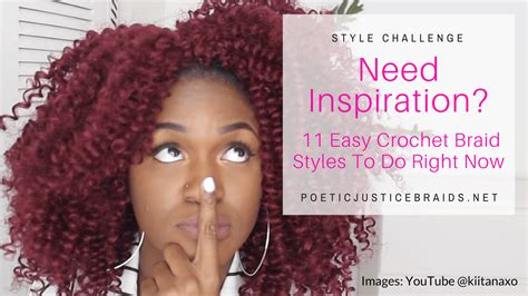 what do you need to get crochet braids need inspiration 11 easy crochet braid styles to do right now