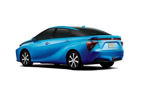 Toyota Fcv 2015 Toyota Fcv Futuristic Production Design Revealed