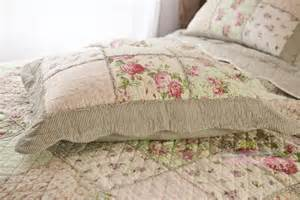 Country Bedspreads Country Floral Patchwork Quilted Cotton Coverlet