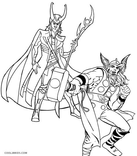 avengers coloring pages loki avengers loki coloring pages