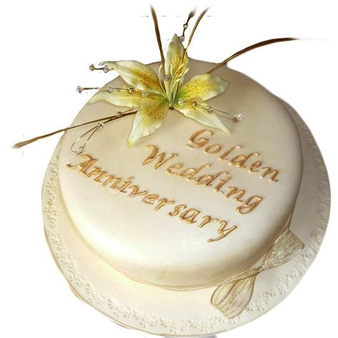 gold wedding anniversary cake buy free uk delivery new cakes
