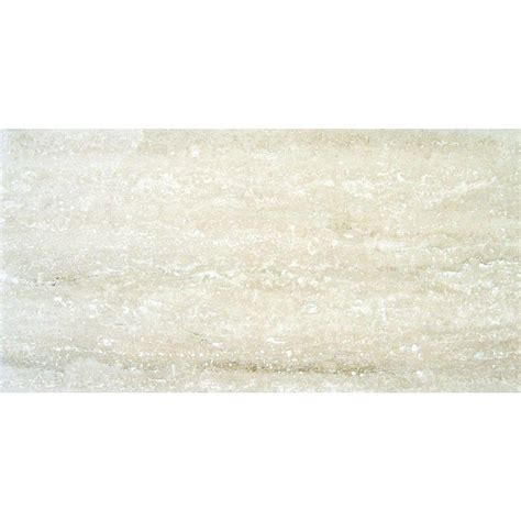 ms international roman vein cut 12 in x 24 in polished travertine floor and wall tile 10 sq