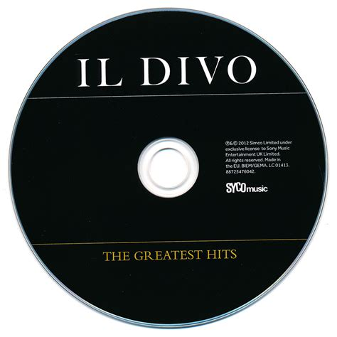 il divo greatest hits the greatest hits il divo muzyka sklep empik